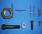 Modified Assortment of Screws and Nuts - National Cap & Set Screw